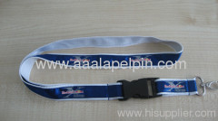 polyester satin ribbon lanyard