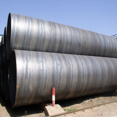 china carbon steel Spirally Submerged Arc Welded pipe