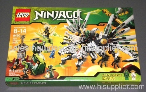 Original lego ninjago 9450 epic dragon battle 9450 - Lego ninjago dragon a 4 tetes ...