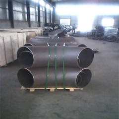 pipe fitting asme b16.9/16.28 steel elbow