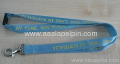 competitive quality Blue and Red Nylon lanyards