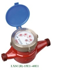 Multi-jet dry type Vane Wheel hot water meter