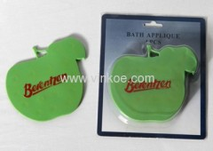 Apple Shaped Pvc Bath Mat