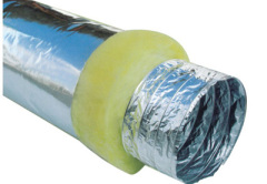 Flexible Insulated Duct For Air Conditions System