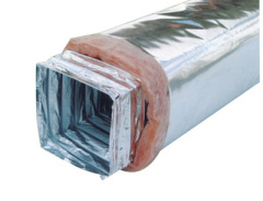 Rectangular flexible duct for air conditioner