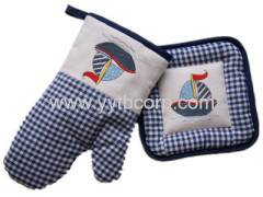 Resistance to dirty,natural,healthy,microwave glove & coaster