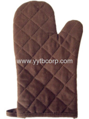 brown color ,colorful canvas microwave glove