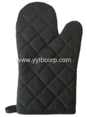 black green color ,colorful canvas microwave glove