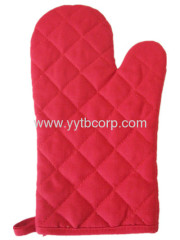 red green color ,colorful canvas microwave glove