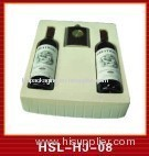 red wine plastic packaging tray
