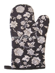 the most popular printed microwave oven glove