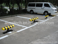 remote controlling parking locks and space barriers