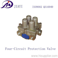 the Four Circuit Protection Valve