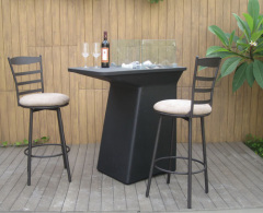Gas Fire Pit Bar Table(Art-6160)