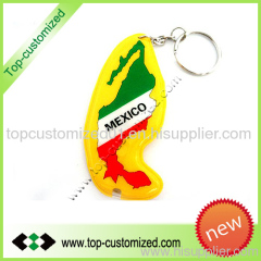 Promotional PVC Rubber Keychain