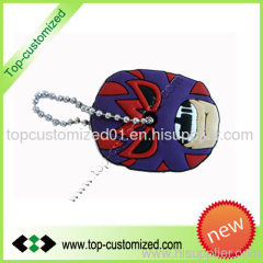 Custom Promotional Gift Soft pvc keychain