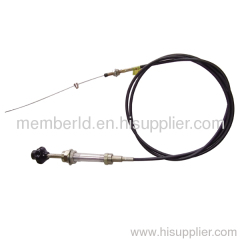 road sweeper throttle control cable