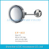 "10"" Bathroom Round 3X Magnifying Mirror/Fogless"