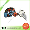 Custom Rubber soft PVC Keyring Keychains key chain
