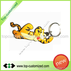 3D pvc promotional keyring wholesale
