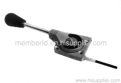 sweeper throttle control assembly