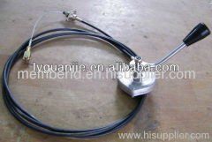 roller throttle control cable