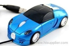 Bugatti brande car mouse with usb cable mouse