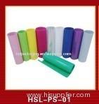 Coloured plastic roll sheet