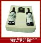 blister packaging for wine bottle