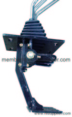 muiltiple valve control lever for loader