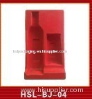 Plastic thermoforming blister packaging tray