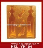 wine bottle tray packing