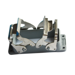 H24B heavy Duty Connector housing with 2 metal lockings