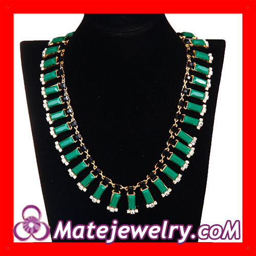 Chunky Chain Bar Statement Necklace