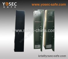 Yosec5 Gun Safe Rifle full size with key lock operated/ gun lockbox storage rifle cabinet safe