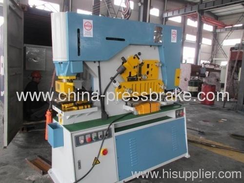 universal hydraulic iron- worker