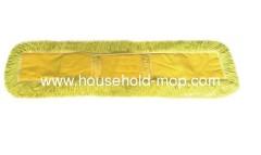 Microfiber fringed twist mop pad