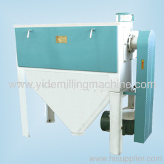 bran finisher machinery separate the flour in bran pieces and reducing the burden