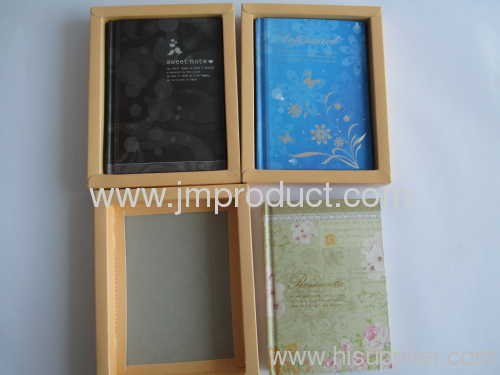 3 kinds inside paper notebook in box