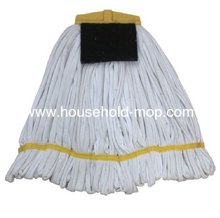 3 or 4 Ply Yarn Plastic Socket Cotton Floor Cleaning Mops