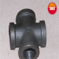 npt thread stainless steel cross fittings