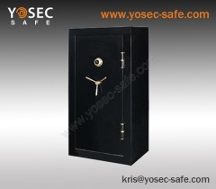 High security Combination Fireproof gun safe & fire gun safes with high gloss surface treatment
