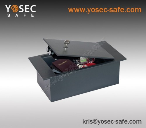 Underfloor hidden safe box yosec cupboard safe with key for Hidden floor safe