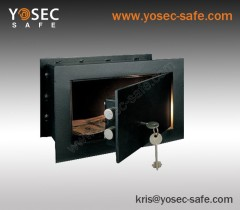 Key lock in-wall safe / Wall mounted safe