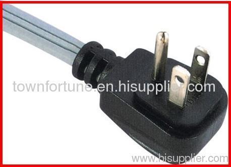 USA Angled plug with cords