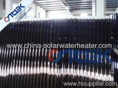 Purple surface solar water heater vacuum tubes