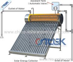 Stainless steel pre-heated solar water heater, solar geyser