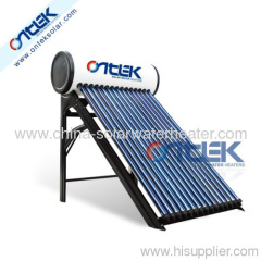 Integrated Solar Water Heater;Integrated Pressurized solar water heater