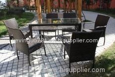 Rattan/Wicker Garden Dining Set