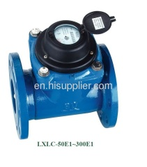 removable dry type woltman water meter